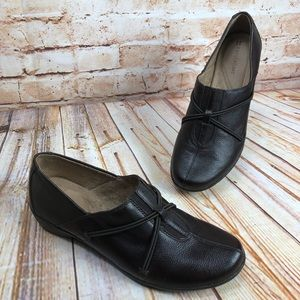 Naturalizer NATANIA 2 Leather Loafers Shoes EUC